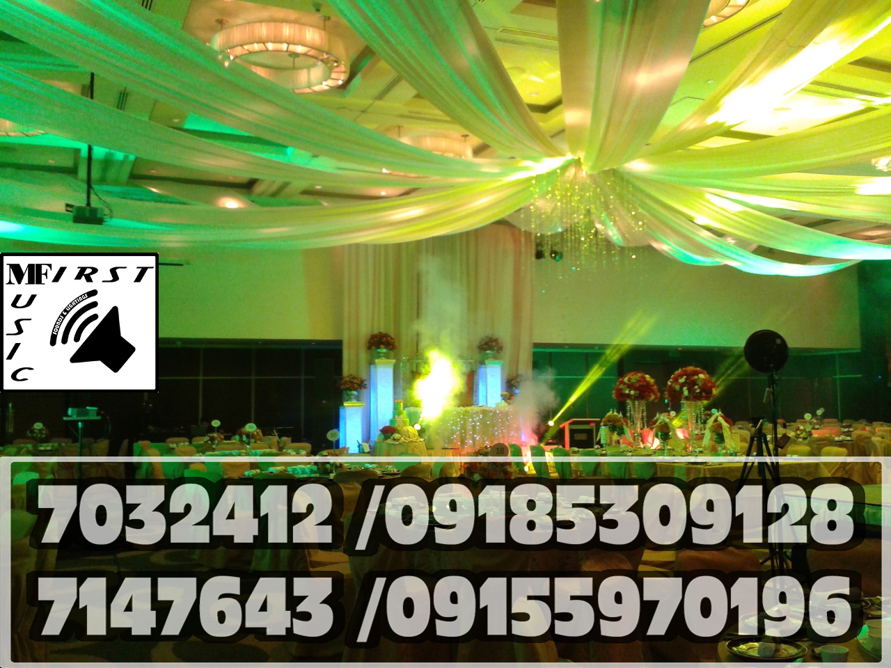 Music First Sound System Rental Manila Party Lights For Rent7032412